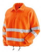 SWEAT ORANGE POLYESTER-COTON TORONTO Soluprotech